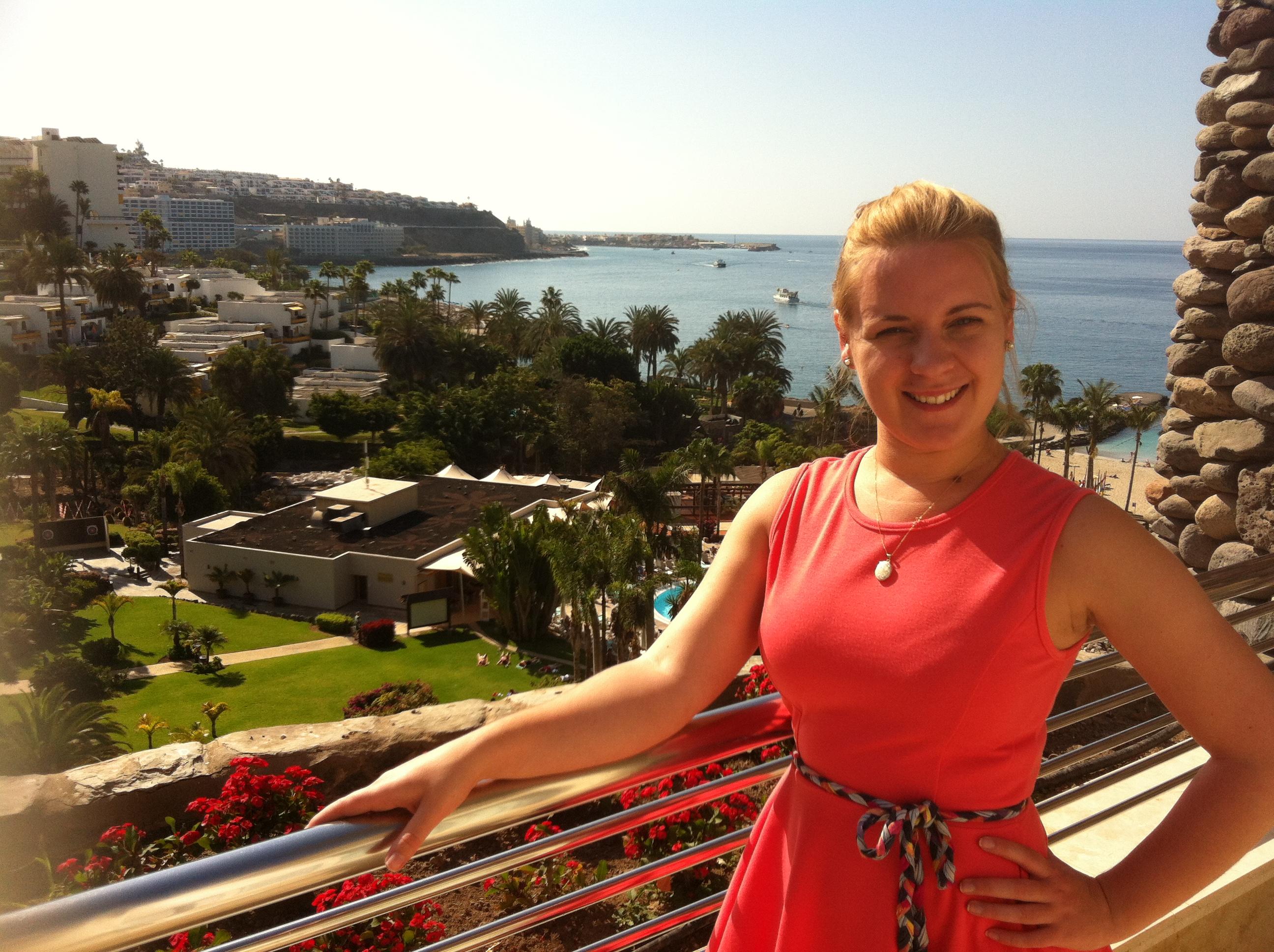Me in Gran Canaria