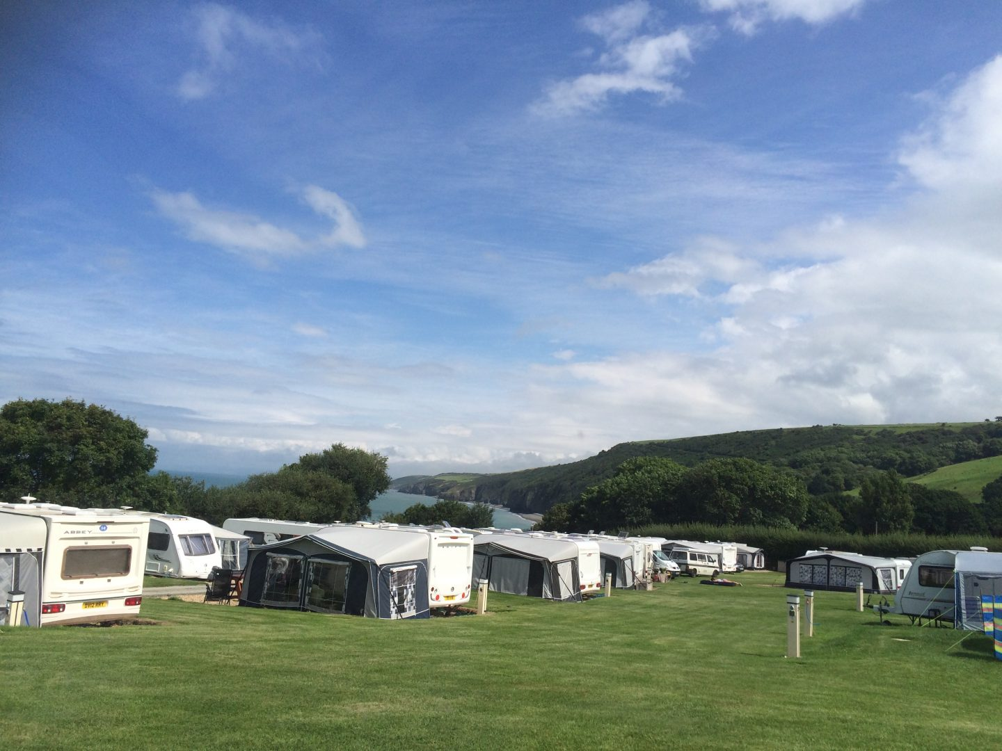 Our Family Camps at Cei Bach, Wales