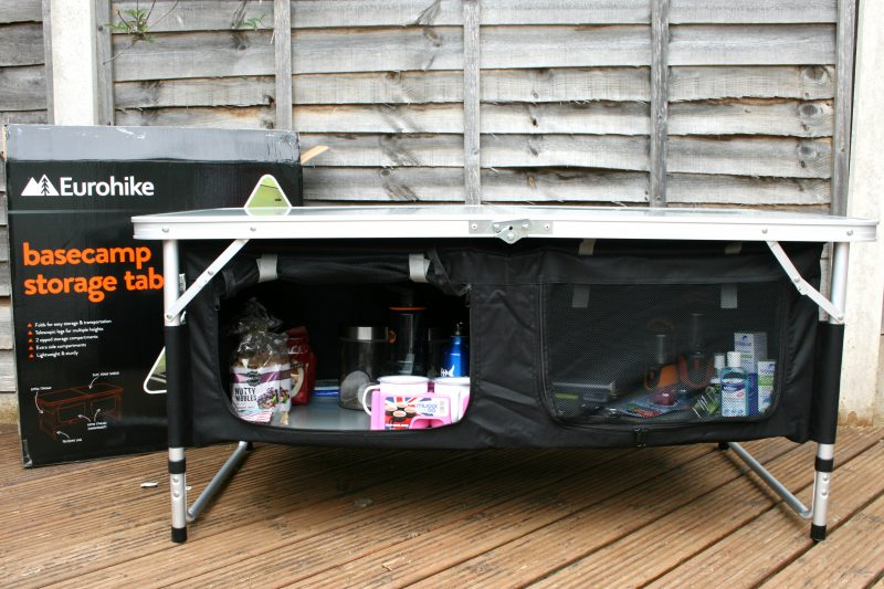 Camping Table from Millets #HomefromHome