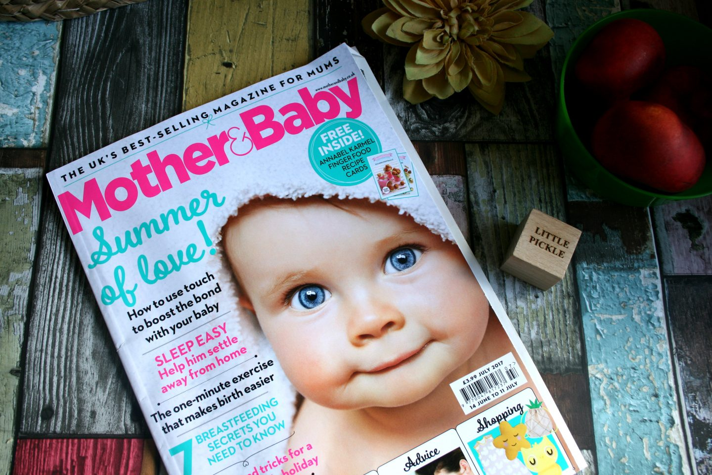 Mother & Baby Magazine July 2017
