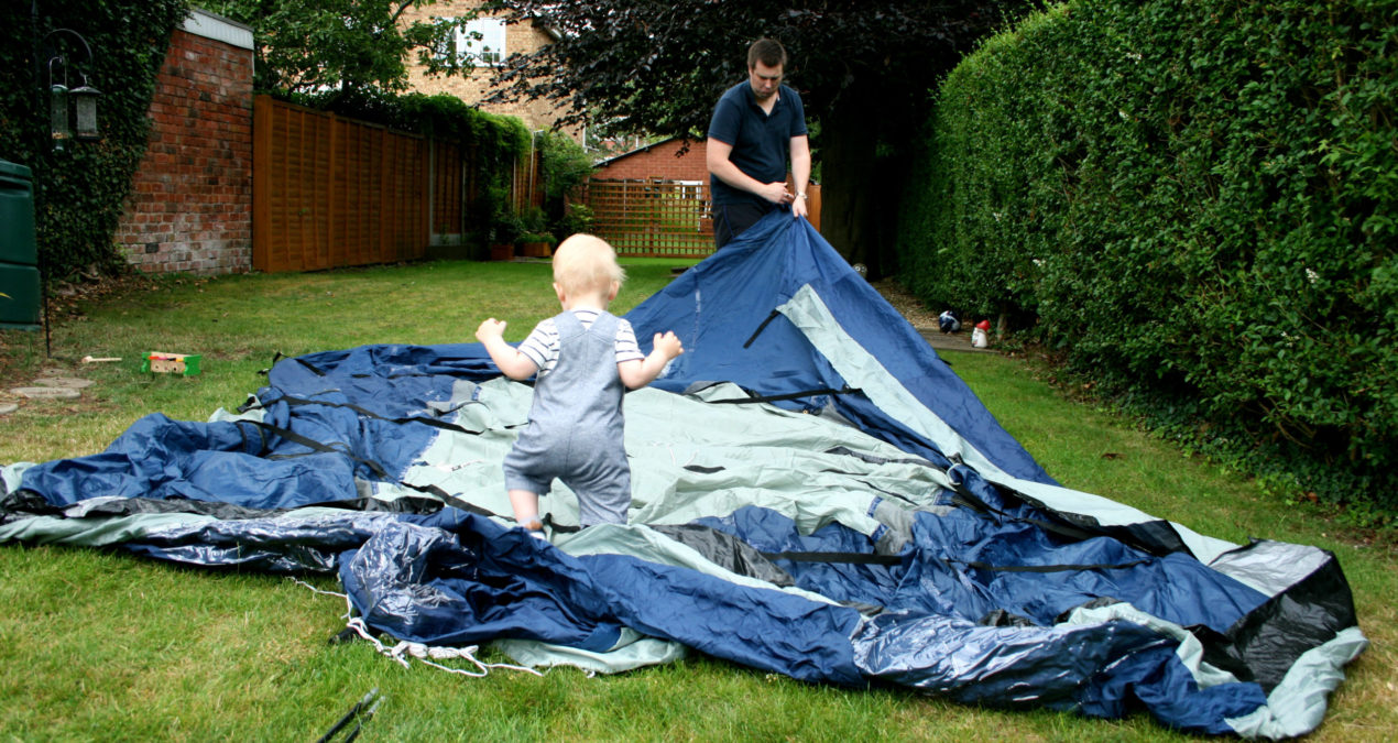 Our Family Camps in a #HomefromHome with Millets