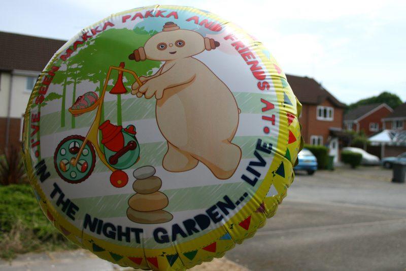 Helium Balloon In the Night Garden Makka Pakka