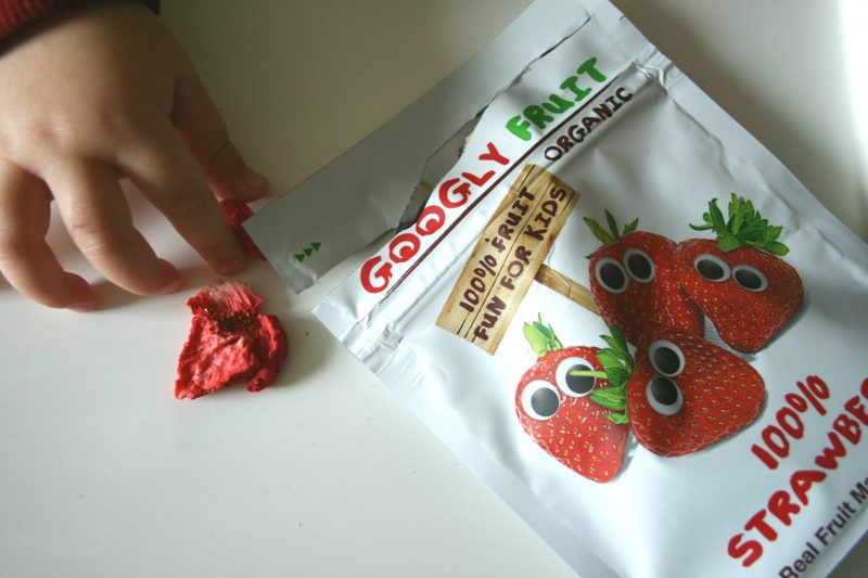 Googly Fruit Freeze Dried Strawberry