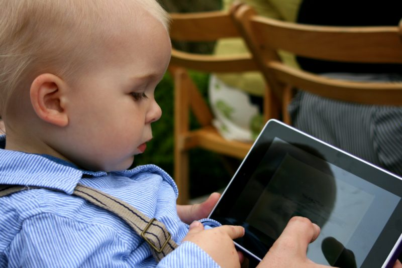 The Digital Nanny at a Wedding with a Toddler