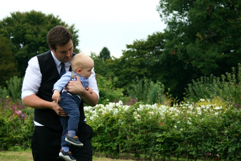 Attending a Wedding with a Toddler but no Pushchair