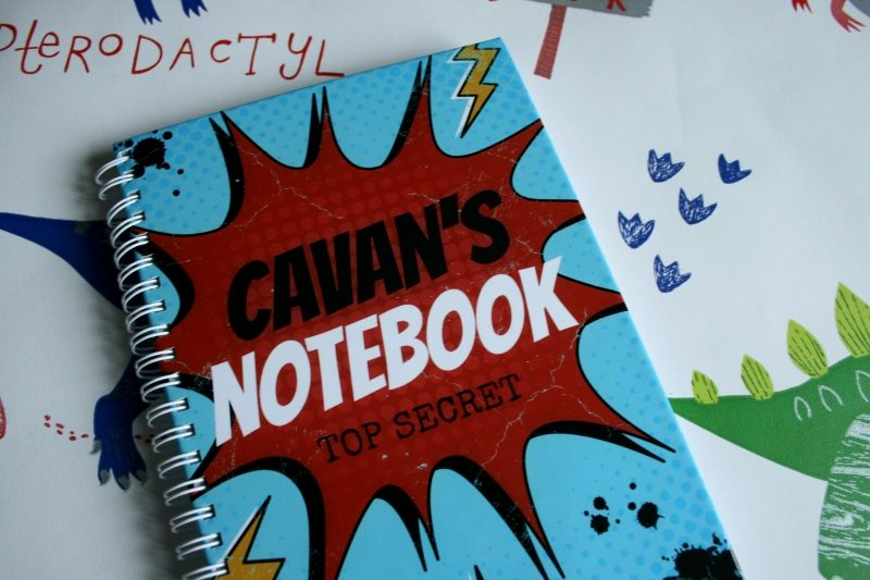 Personalised Notebook from GiftPup for Cavan