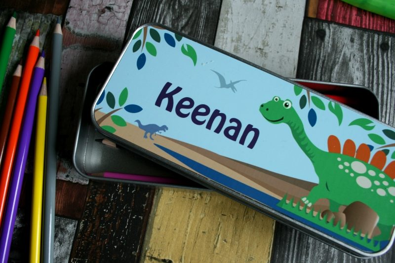 Personalised Pencil Tin from Born Gifted