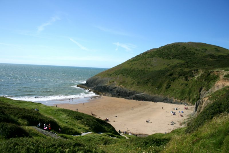 Mwnt National Trust Beach Wales