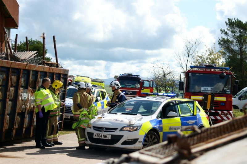 Joint Exercise with Police and Fire and Rescue