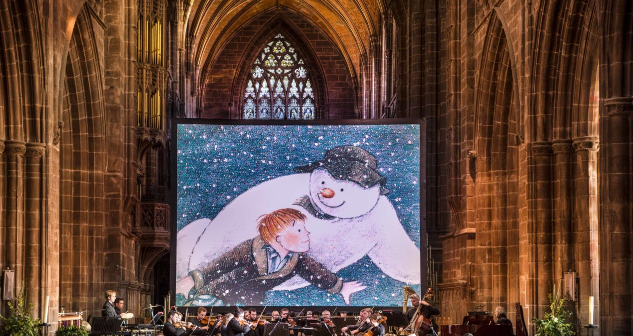 The Snowman is coming to Coventry Cathedral