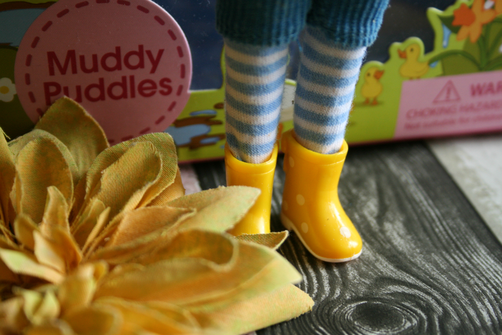 Muddy Puddle Lottie Doll Wellies