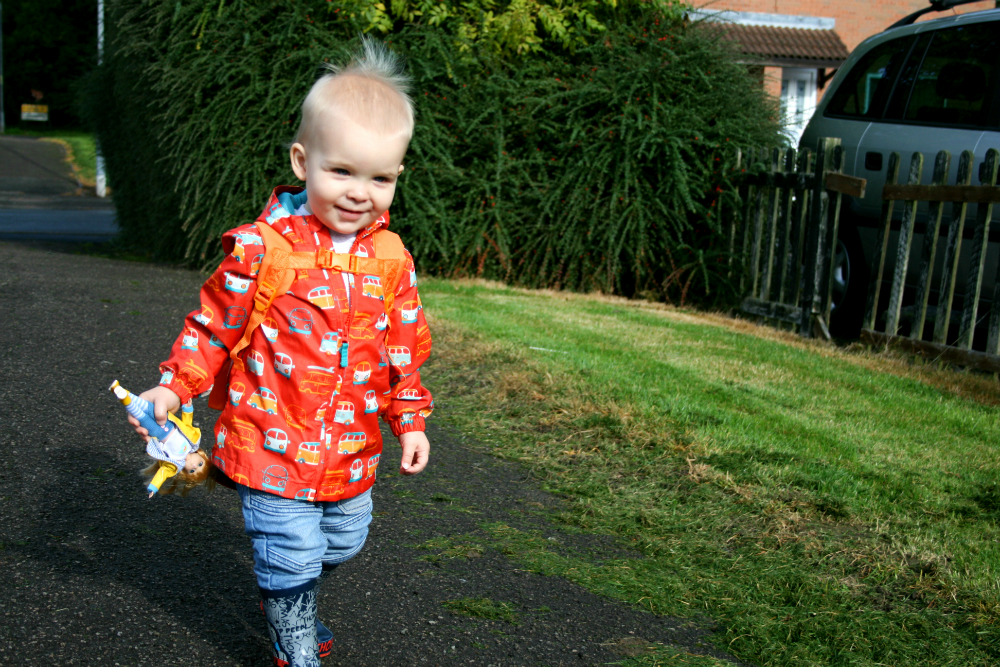 On the Hunt for Puddles with Lottie Doll