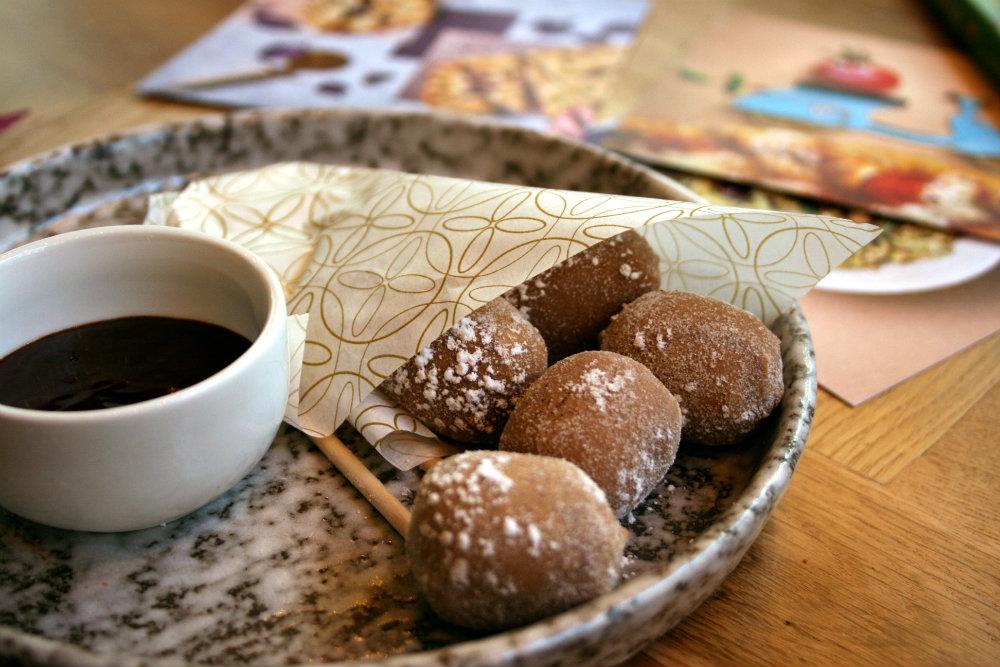 Chocolate Gnocchi at Ask Italian