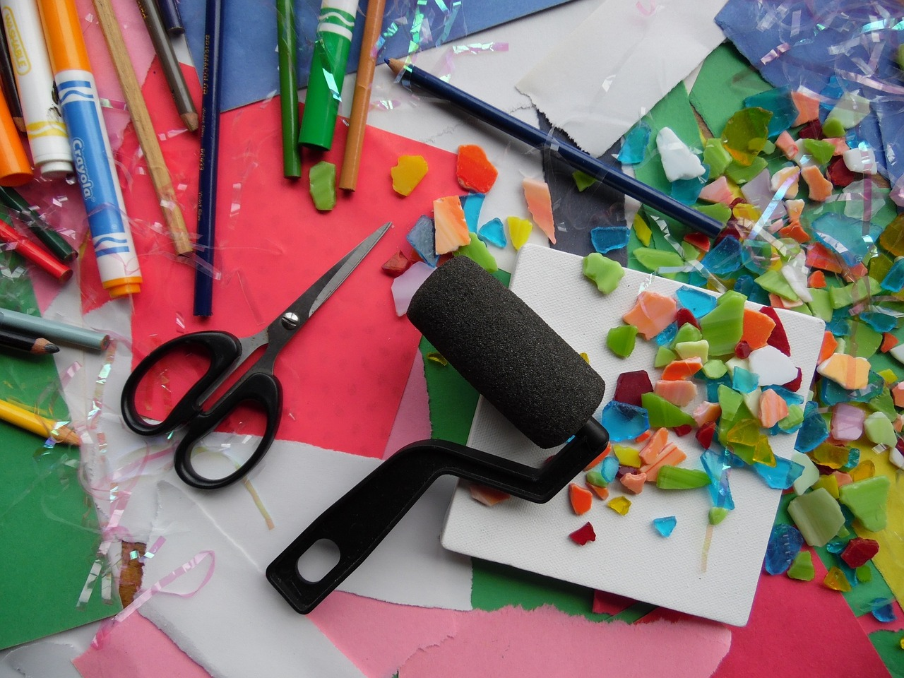 Art and Craft Supplies for Halloween