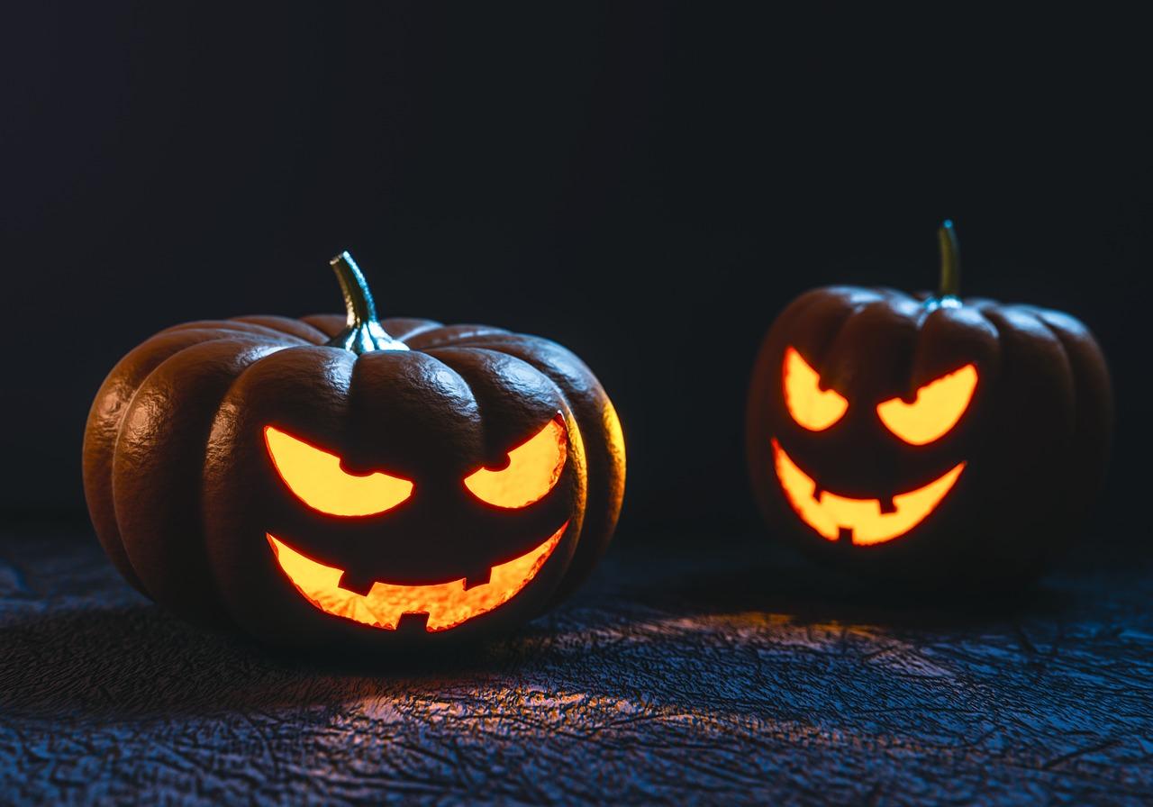 Halloween Spooky Pumpkins