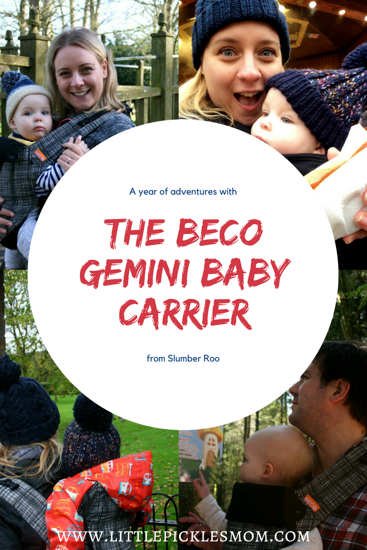 A Year of Adventures with the Beco Gemini Baby Carrier - looking back at the babywearing benefits and the outdoors adventures this carrier has enabled us to have.