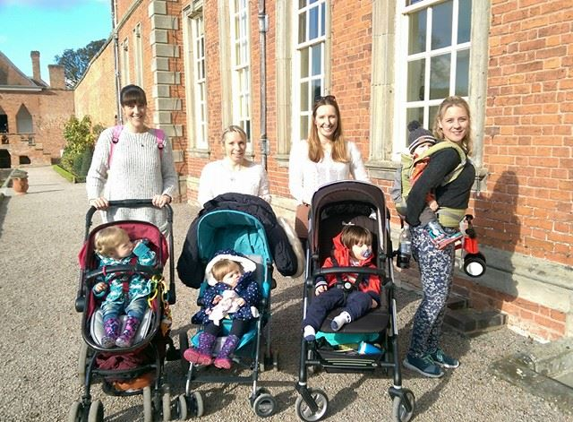 Mixture of prams and carriers