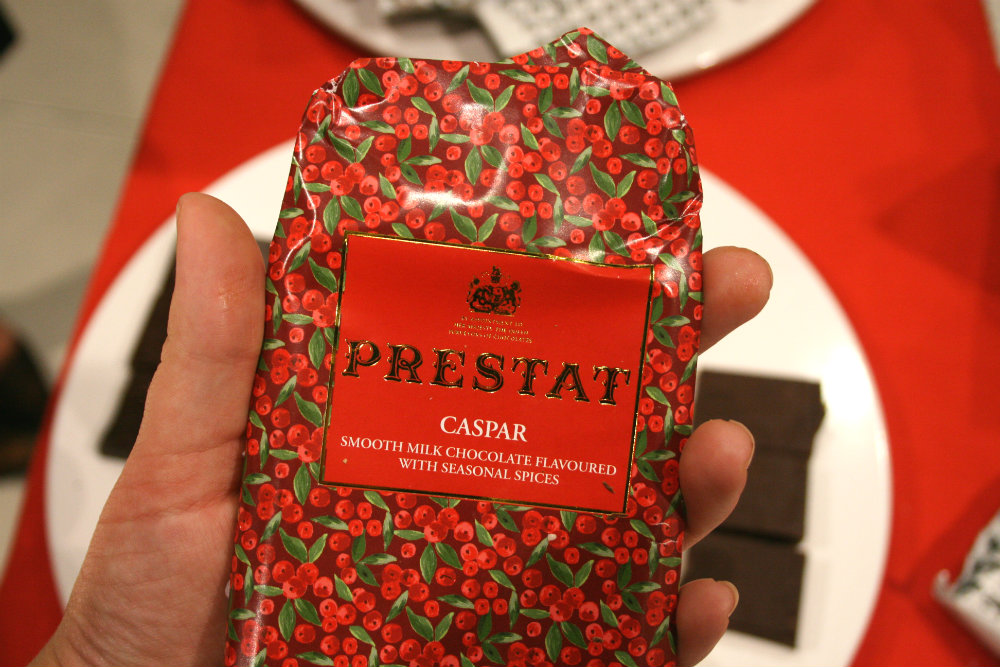 Prestat Christmas Chocolate from John Lewis