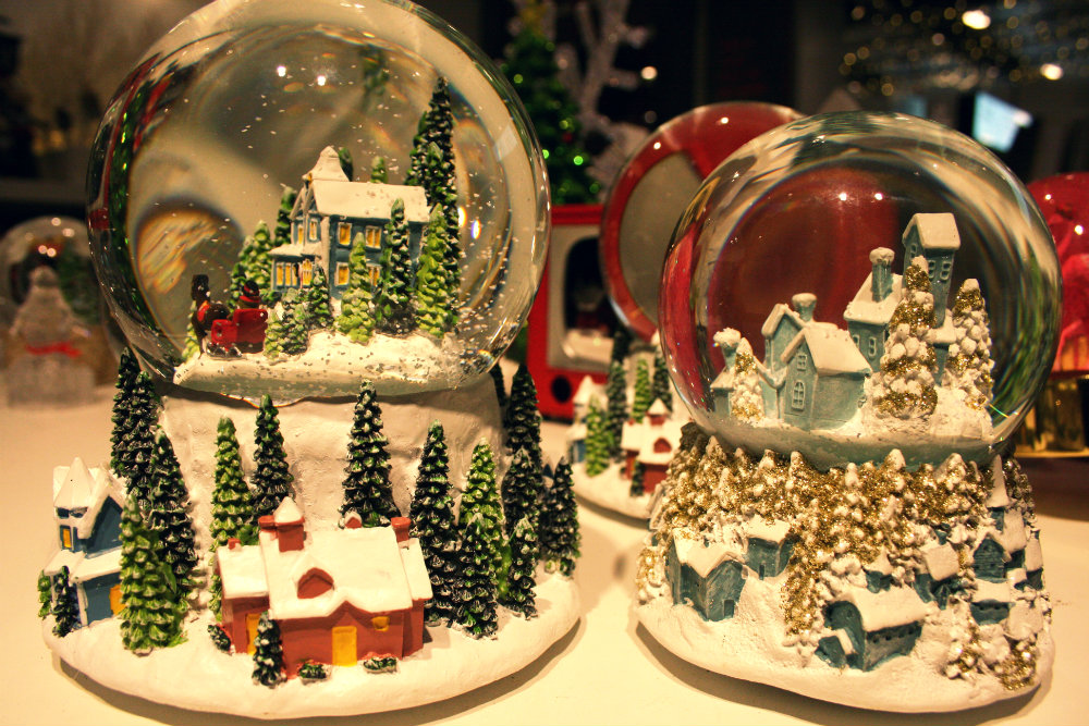 Snow Globes from John Lewis