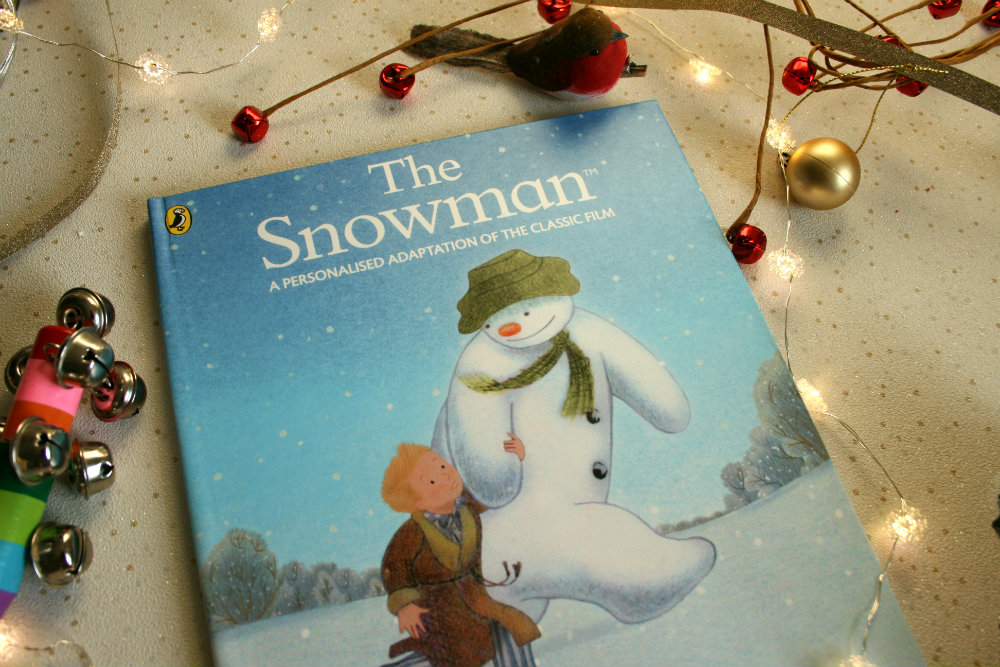 Personalised The Snowman Book Christmas Gift