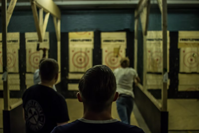 Axe Throwing Experience at Whistle Punks