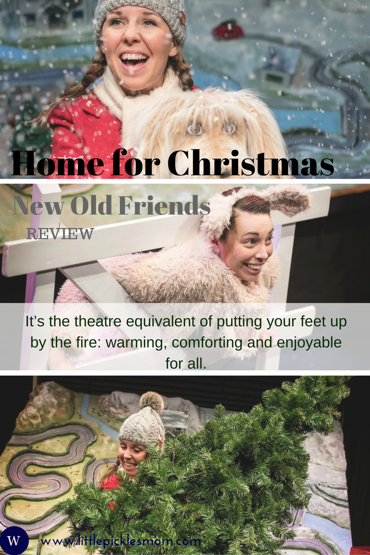 We reviewed this children's theatre show at the Lichfield Garrick theatre - Home for Christmas from New Old Friends, a festive joy for all the family!