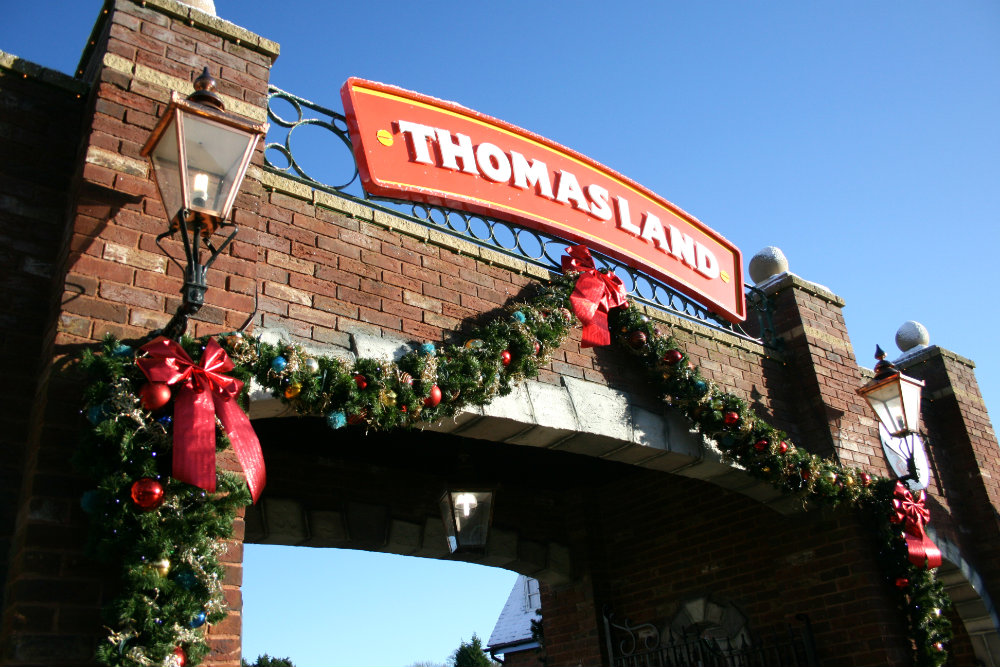 Thomasland Entrance at Drayton Manor Park