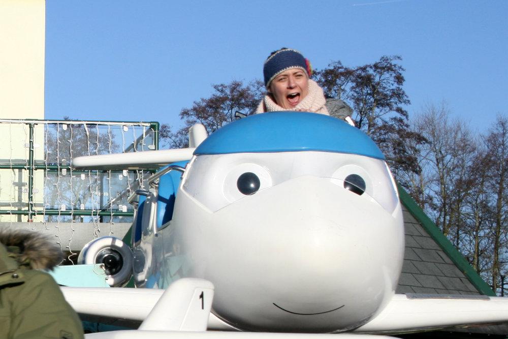 Flying at Thomasland as part of Magical Christmas at Drayton Manor Park