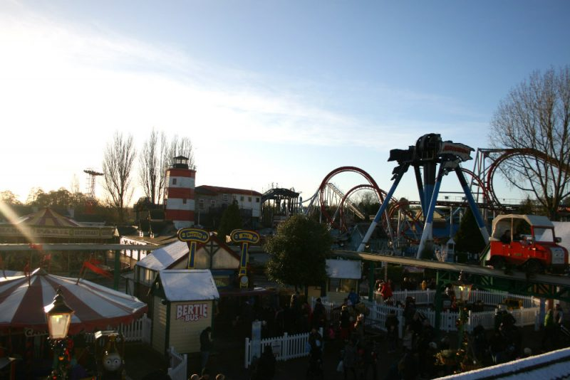 The View of Drayton Manor from Winston's Ride