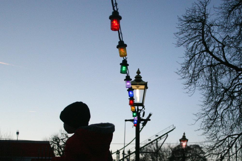 Goodnight from Thomasland Magical Christmas at Drayton Manor Park