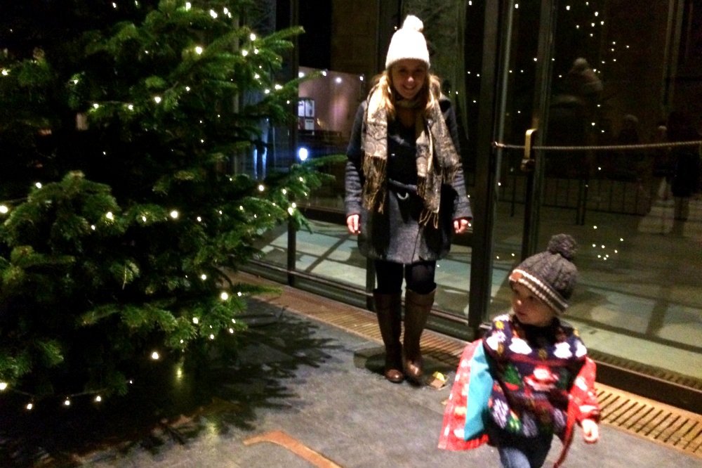 The Christmas Tree in Coventry Cathedral