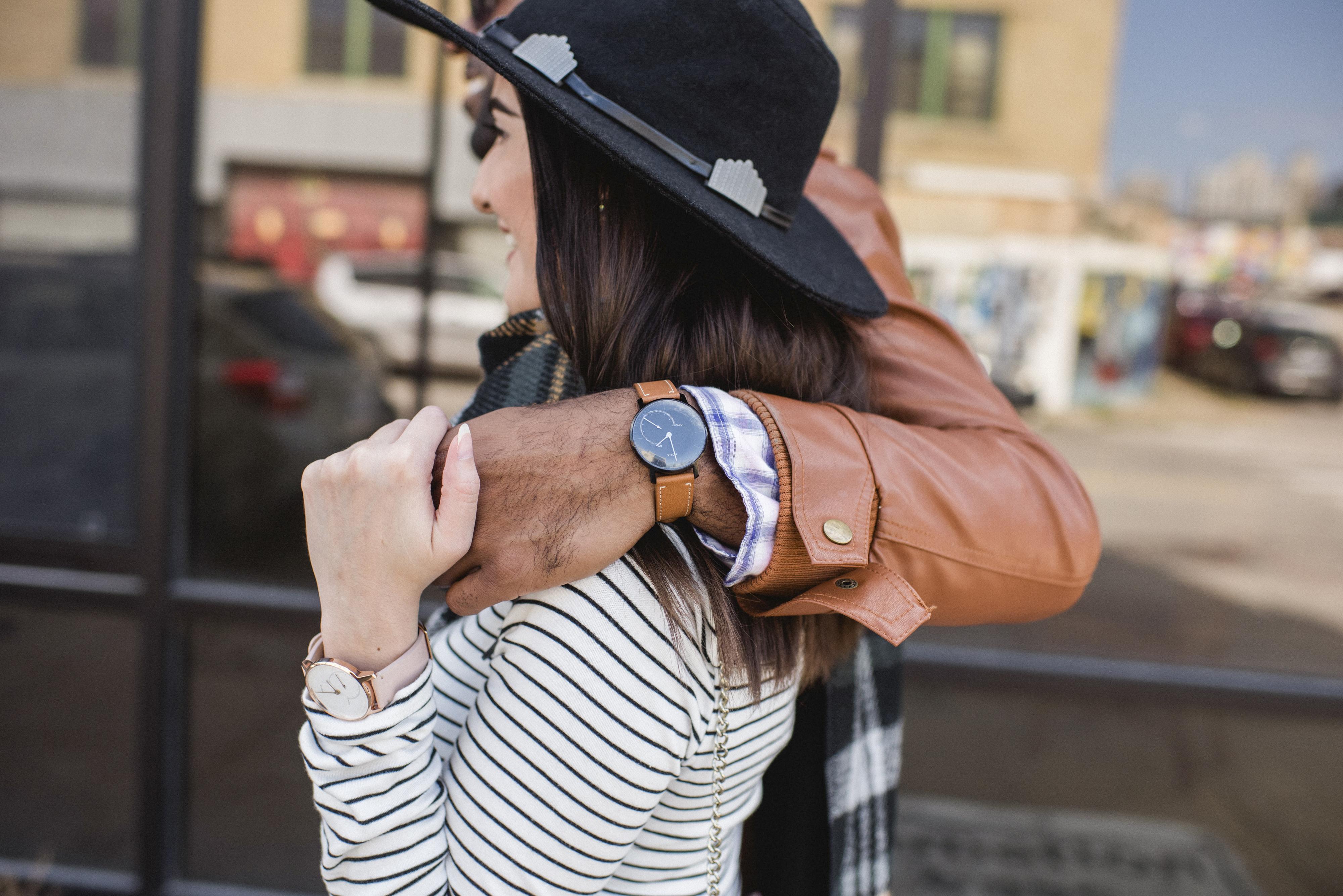 Nokia Steel Watch on a man