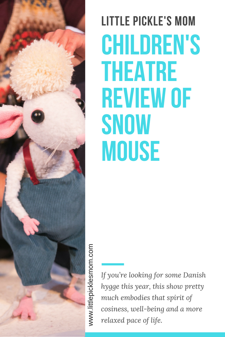 Children's Theatre review of Travelling Light Theatre and the egg Bath's Snow Mouse production - a wintry show full of charm, love and beauty.