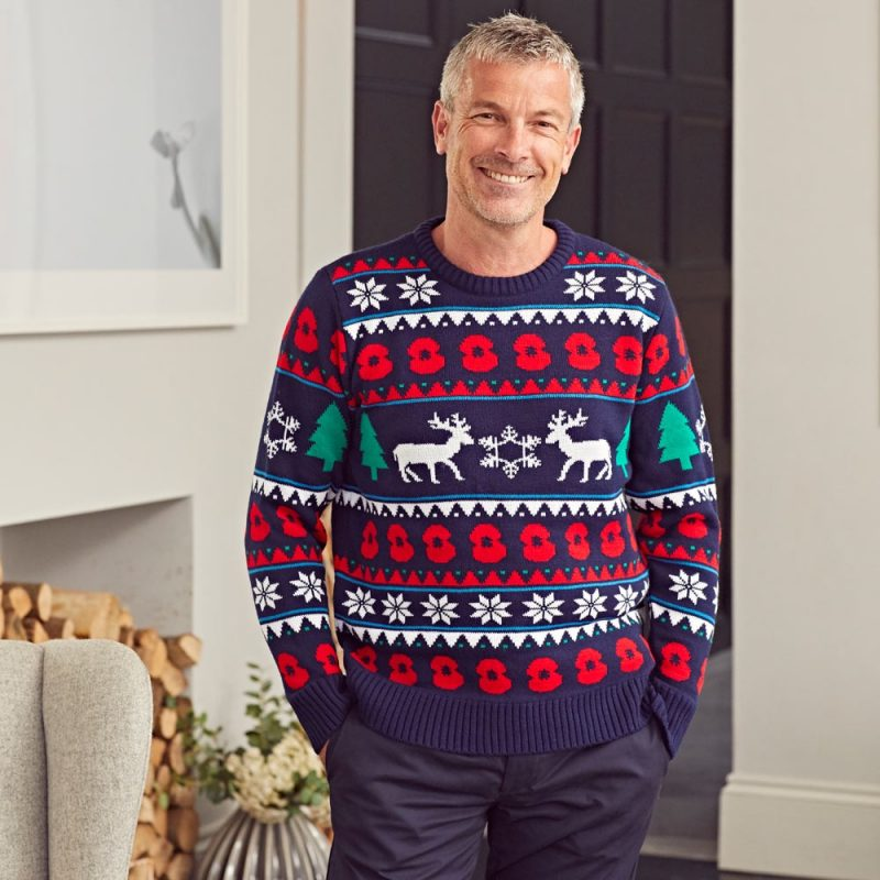 Christmas Jumper Gifts for Men from The British Legion