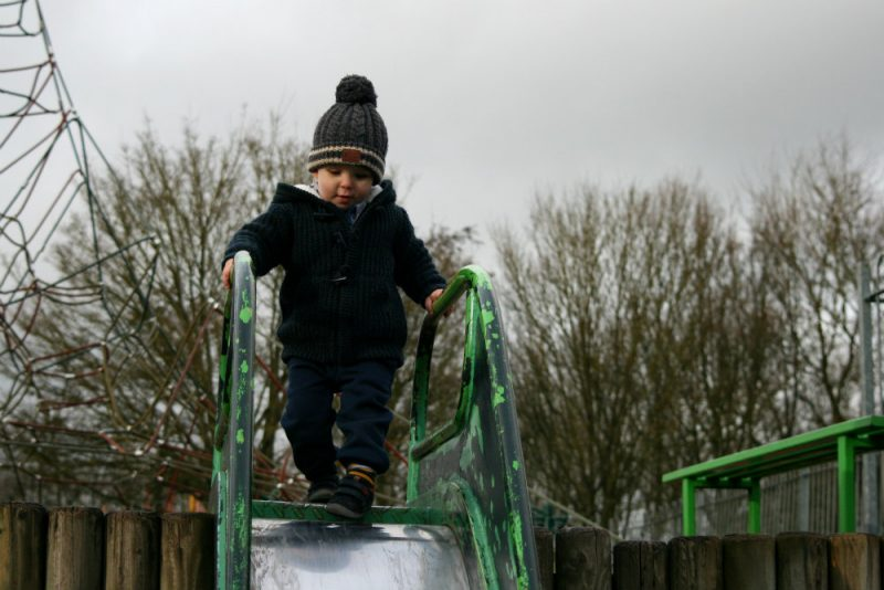 Confident Pickle at the top of the slide