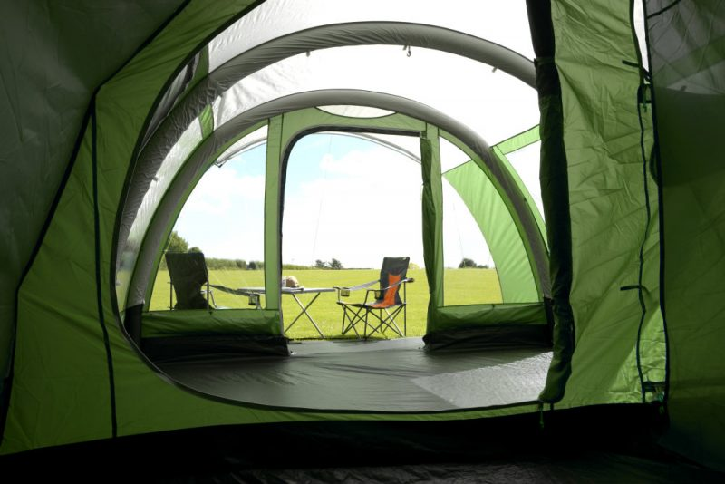 Paloma 5 Air tent from the sleeping compartment