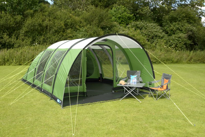 Paloma 5 Air tent from Kampa (Stock image)