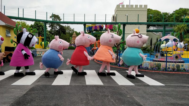Abbey Road Peppa Pig Style