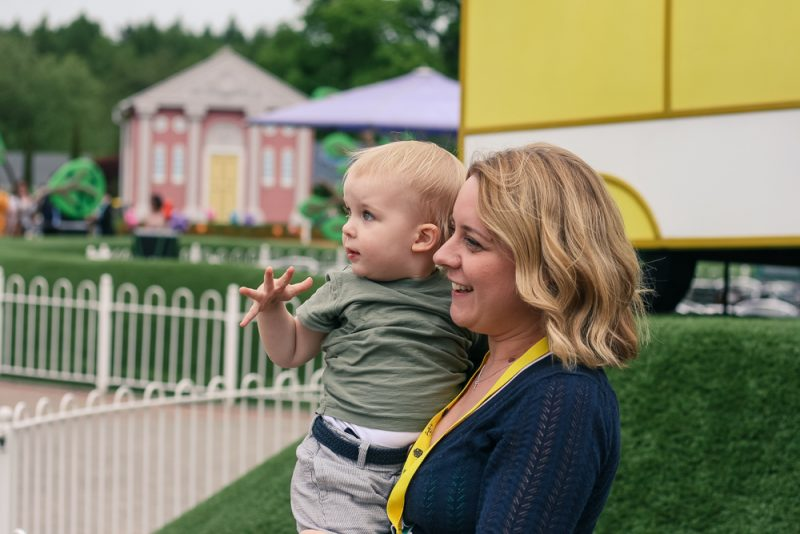 Looking towards the future at school choices - Mommy and Pickle at Peppa Pig World