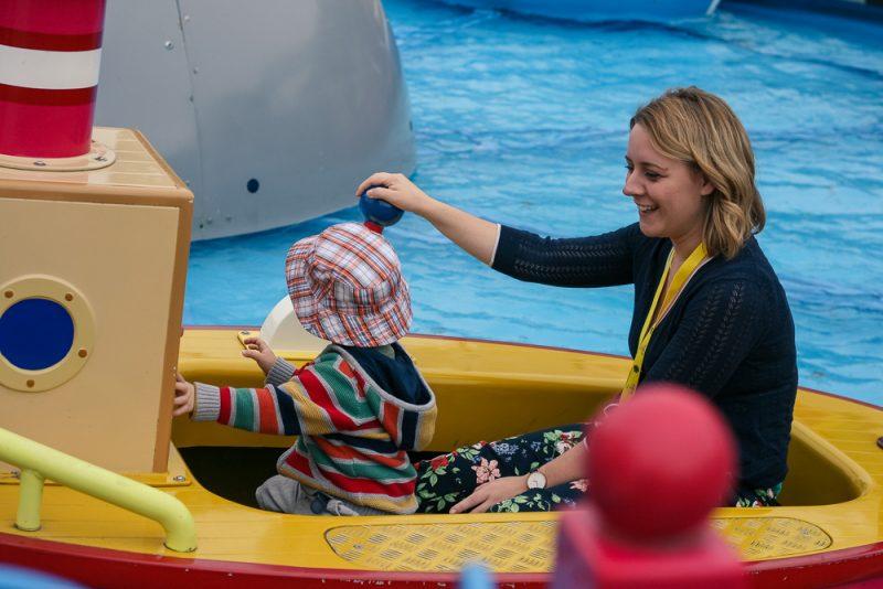 Grandpa Pig's Boat Ride at Peppa Pig World