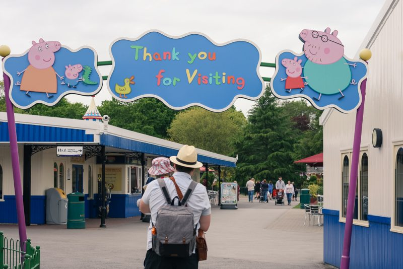 Bye bye Peppa Pig World