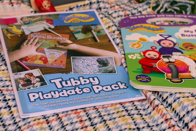 Teletubbies Playdate Pack close up photo