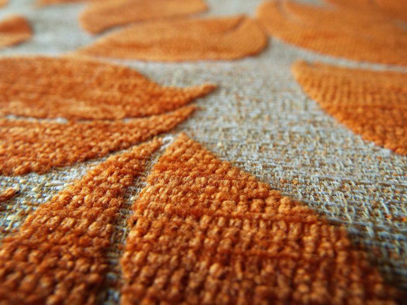 Close up image of carpet