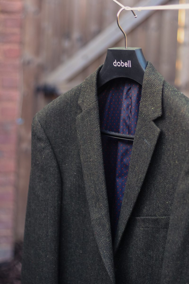 Dobells Tweed Green Jacket