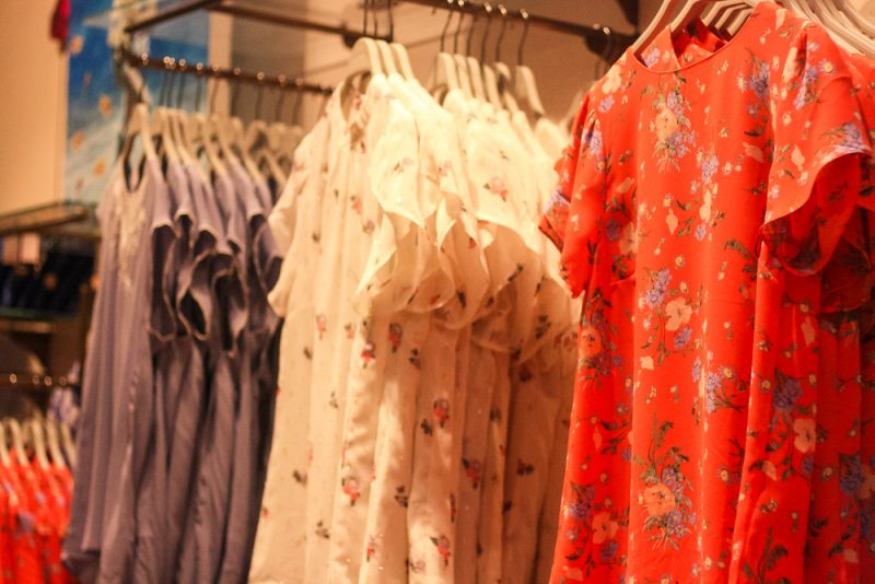 Gorgeous floral tops available at Oasis in the Bullring Birmingham