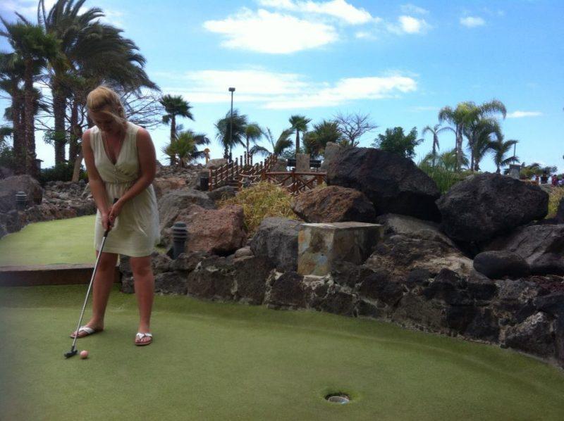 Mini Golf in Gran Canaria