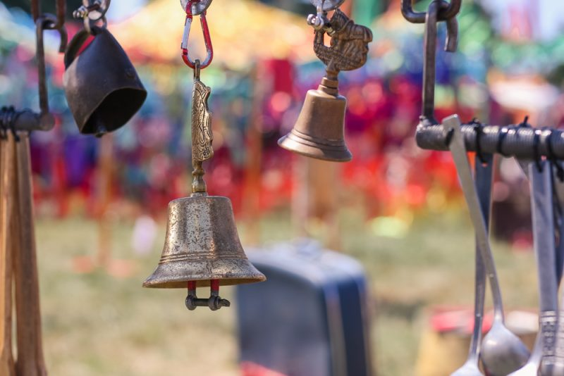 Bells as part of the Rig at Cornbury Festival