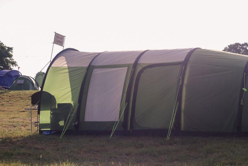 Huge tent at Cornbury Festival