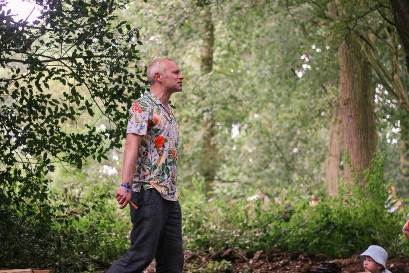 Mike Payton Storyteller at Timber Festival