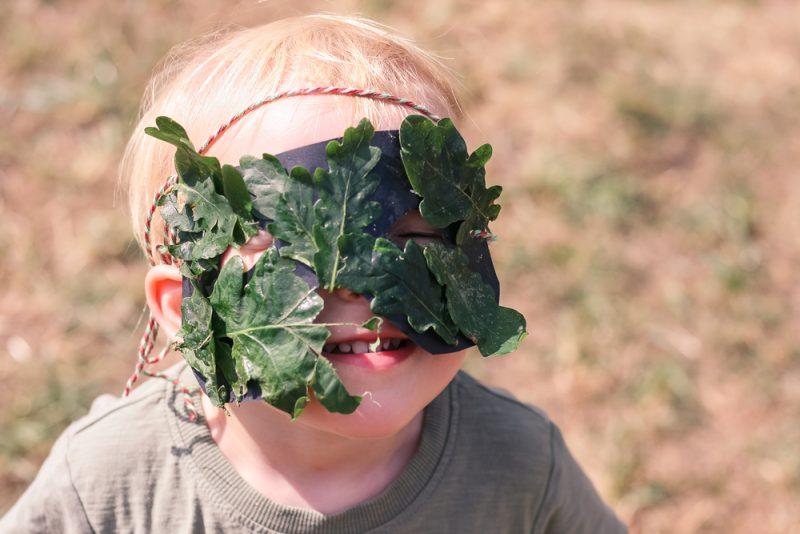 Green Man Oak Tree Mask
